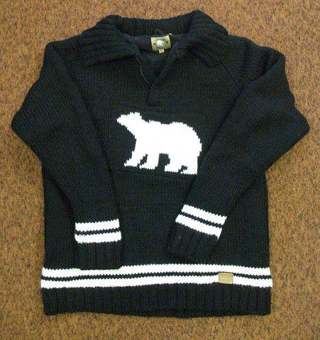 Polar Bear Pullover – Real Wool Shop