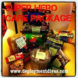 9 best college care packages images on pinterest college care super hero care package for deployed soldier negle Image collections