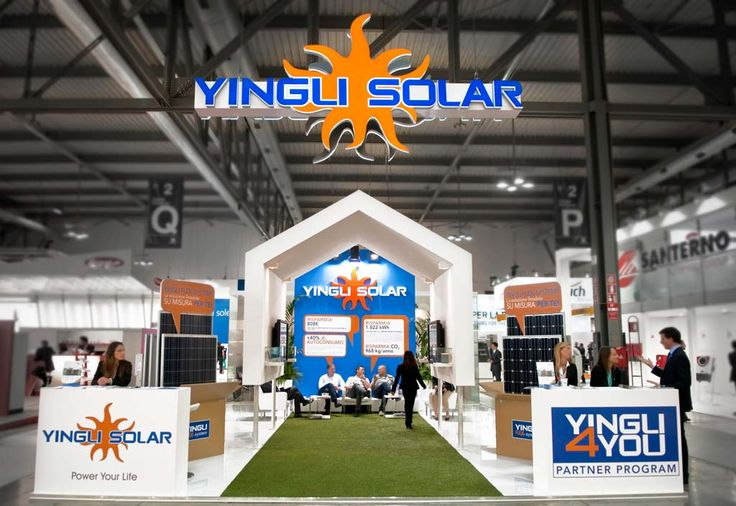 DDM Advertising | EXHIBIT DESIGN: YINGLI SOLAR - DDM Advertising