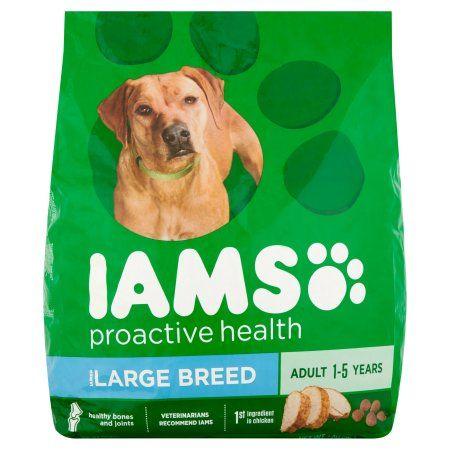 Iams ProActive Health Adult Large Breed Premium Dog Food, 40 lbs