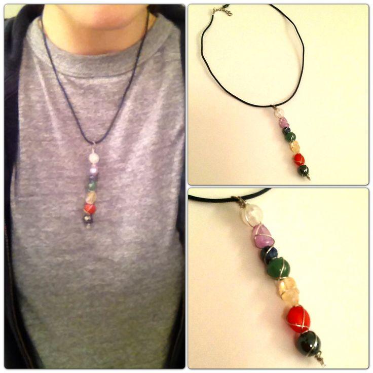 #Chakra Necklace #Handmade