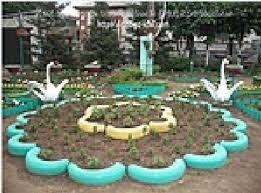 39 best images about proyecto reciclaje parques on for Modelos de jardines pequenos con llantas