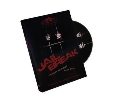 Побег из тюрьмы ( трюк + DVD ) линдон Jugalbot и Finix чан - фокус, Крупный план, Улица, Аксессуары, Ментализм