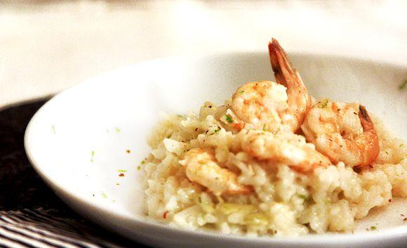 Risoto de camarão e alcachofra feito no forno – Donna Hay   DigaMaria