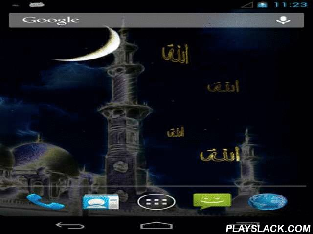 Eid Ramadan  Android App - playslack.com , Eid Ramadan is use to the affair of Ramadan or other Islamic event. Live  wallpaper will please you with pretty HD graphics, the shinny moon and flickering stars.