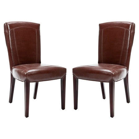 set of two faux leather side chairs product set of 2 chairs material conference room