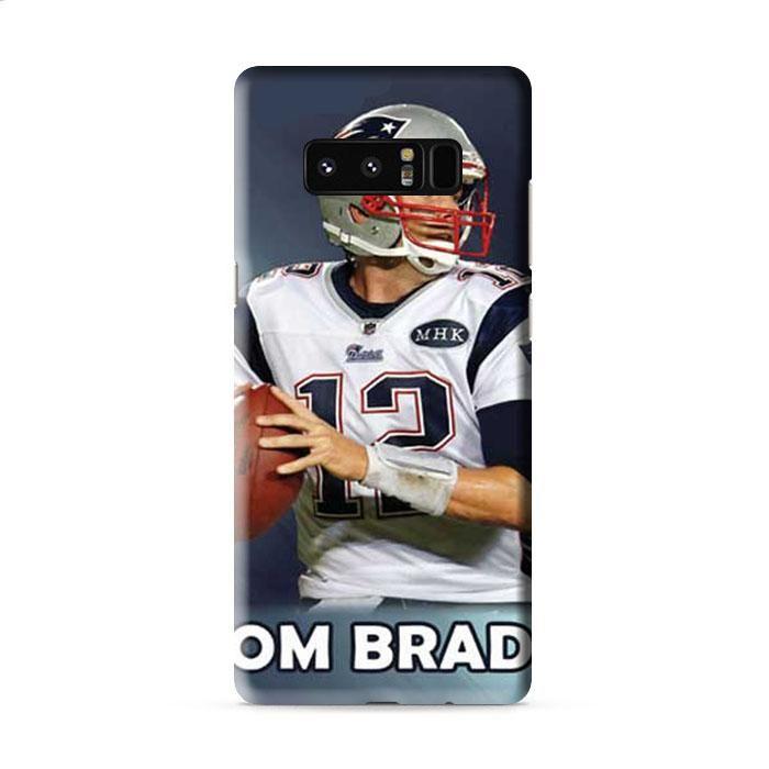 Tom Brady wallpaper Samsung Galaxy Note 8 3D Case Caseperson