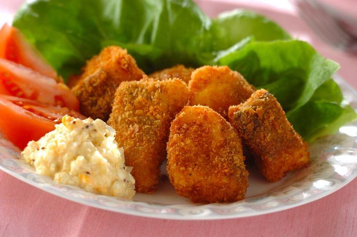 タルタルソースはフライとの相性抜群!白身魚のフライタルタル添え[洋食/揚げもの]2017.02.13公開のレシピです。
