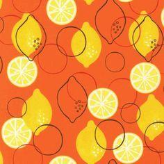lemon and oranges fabric - Google Search