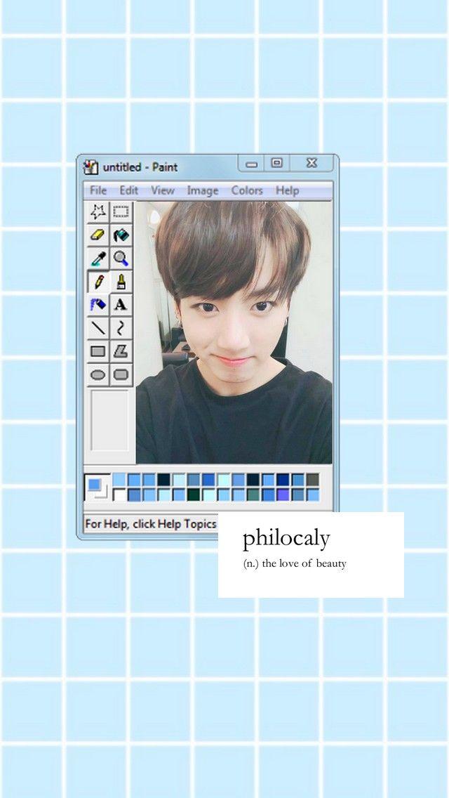 Jungkook lockscreen BTS aesthetic kpop