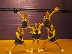 easy cheer stunts - Google Search