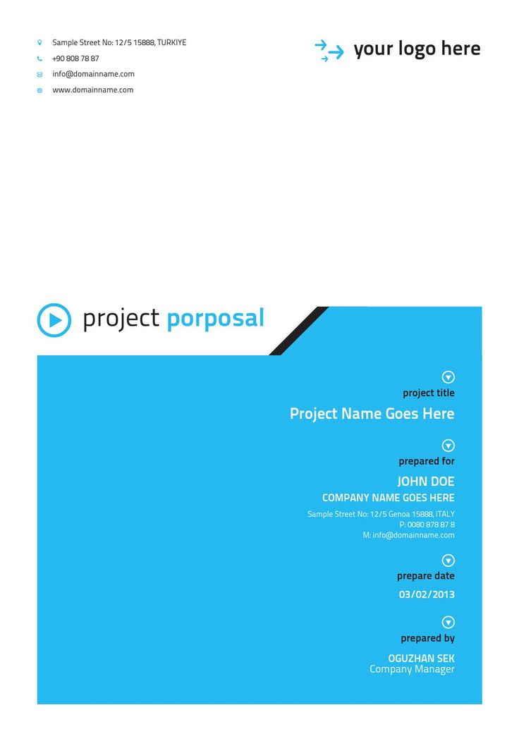 word proposal