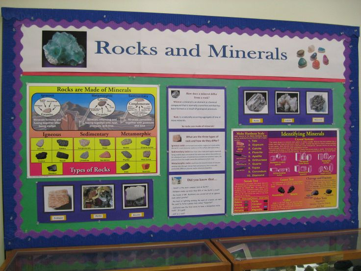 Rocks and minerals bulletin board // Babillard- Roches et minéraux