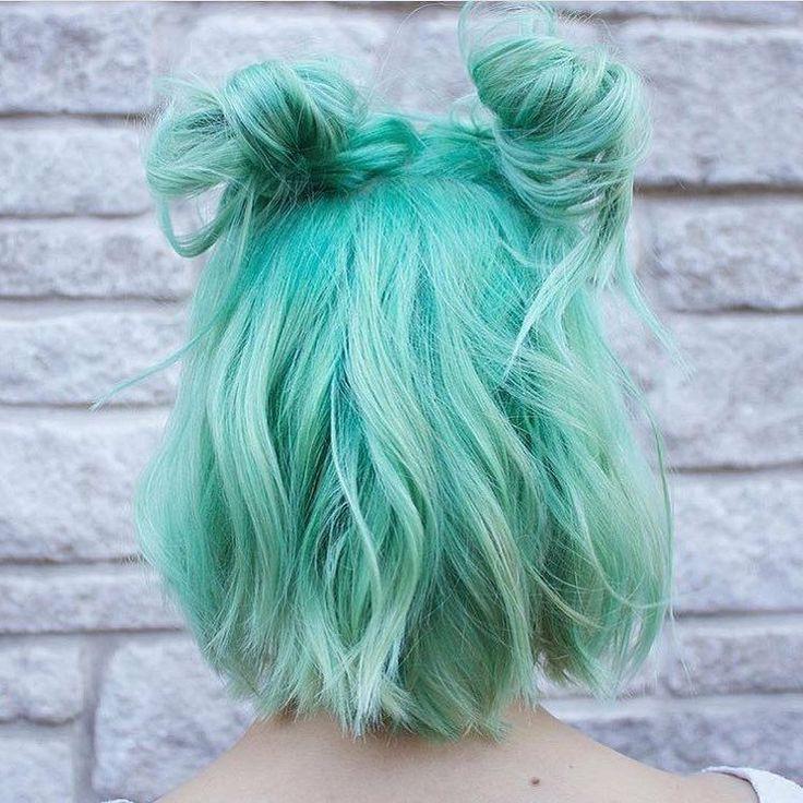 мятный цвет волос картинки кардхолдер