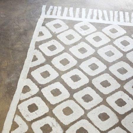 Les 25 meilleures id es concernant sol au pochoir sur pinterest plancher de - Carrelage motif parquet ...