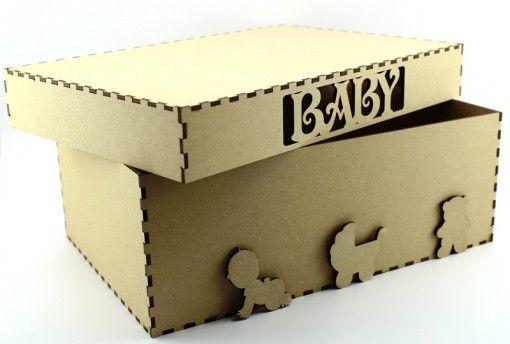 Baby, Birth or memory box mdf blank. http://www.lornajayne.co.uk/