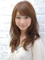 ベース顔 ベース型×ロング ロングヘア セミロング 髪型[ヘアスタイルカタログ]All About ミーコ