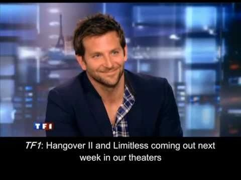 Seriously, Bradley Cooper has those amazing blue eyes AND speaks French fluently?!