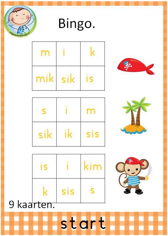 Spellenpakket start. Prachtig pakket met 12 verschillende spelletjes. Goed te gebruiken bij VLL kim versie.Bingo spel. Met 9 verschillende kaarten.