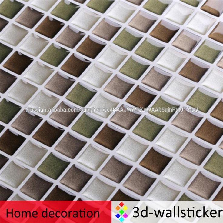 Горячие продажи самоклеющиеся водонепроницаемый наклейки для стен мозаичный декор-изображение-Наклейки-ID товара::1100008862237-russian.alibaba.com