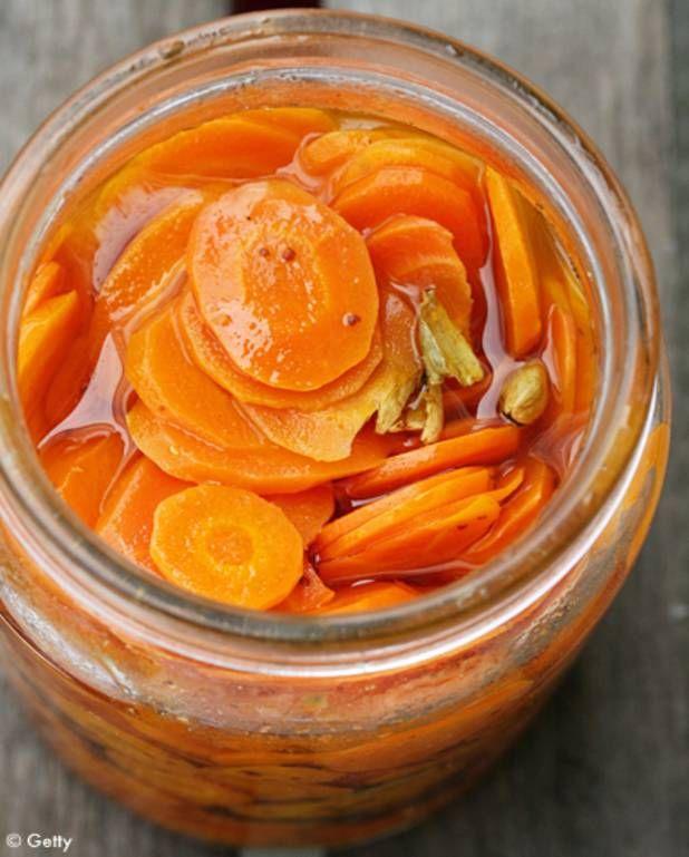 Pickle de carottes au gingembre pour 6 personnes - Recettes Elle à Table