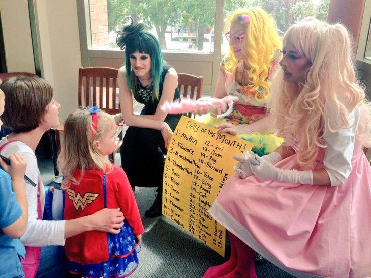 Children Learn Their 'Drag Queen Name' At Library Drag Queen Story Time   MRCTV( this is sick. Keep it in San Francisco)