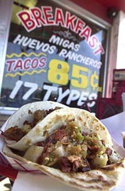 Breakfast Tacos, Austin, Texas