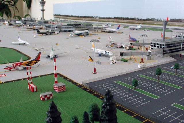 Model Airport 1 500 Model Aviation Pinterest
