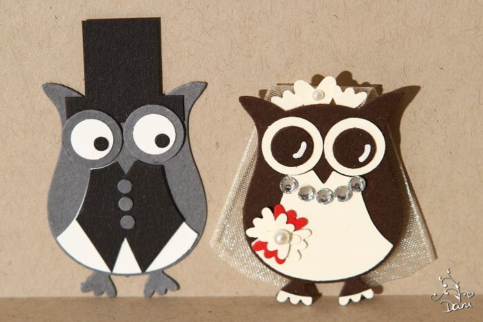 Sweet owl couple