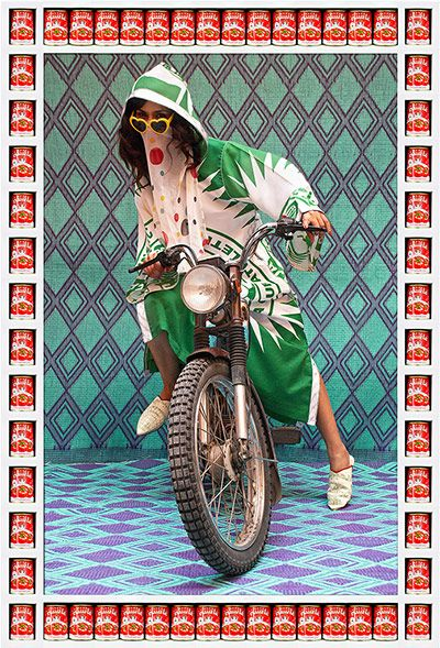Credit: Hassan Hajjaj/Taymour Grahne Gallery, NY  - LOVE my friend Hassan's art & furniture design! Recently showing at LACMA, Los Angeles