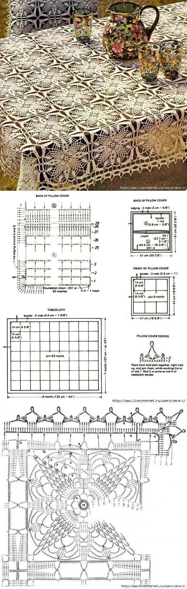 crochet diagram patterns ... ♥ Deniz ♥