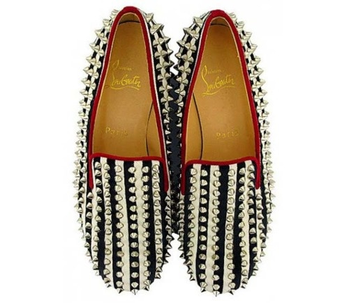 Put your best feets forward with some spiked Christian Louboutin.: Things Fashion, Zebras Shoes, Men Fashionfor, Thesechristian Louboutin, Zebras Prints, Louboutin Zebras, Men Fashion For, Shoes Tops, Shoes Fallwint
