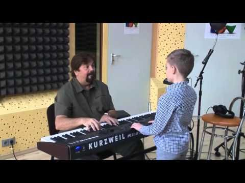 A day at the recording studio - singing lessons by Adrian Daminescu and Dida Dragan, recording session - YouTube