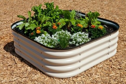 Metal Raised Beds - Strong Trough Garden Bed for Deep Raised Beds