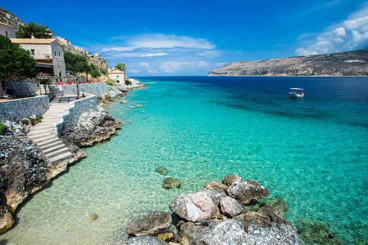 VISIT GREECE  Limeni, Peloponnese