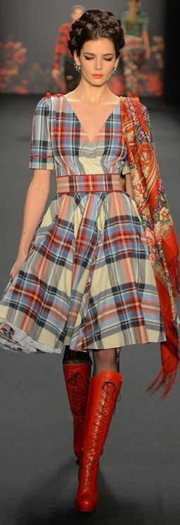 Lena Hoschek A/W13-14 - not sure why, but I love this
