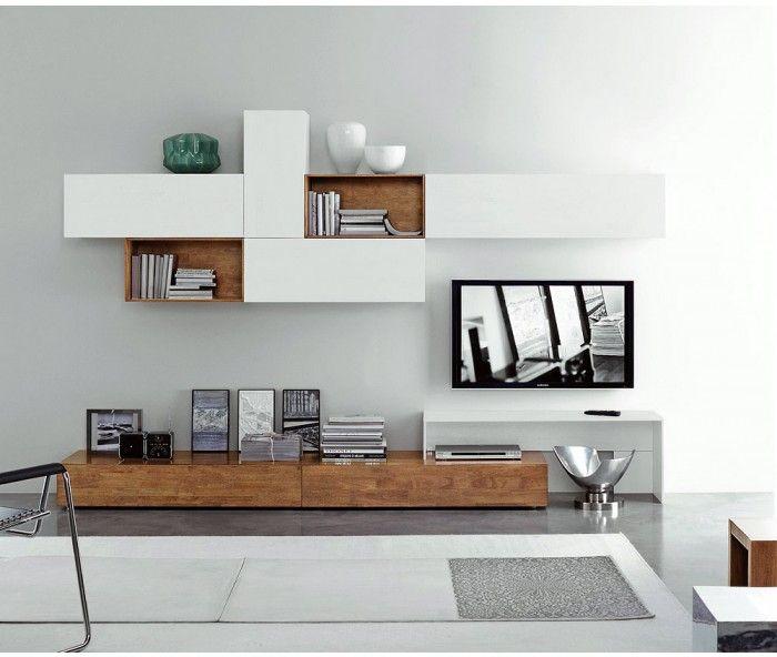 Wohnwand hängend modern  Die besten 20+ Lowboard hängend Ideen auf Pinterest | Tv lowboard ...