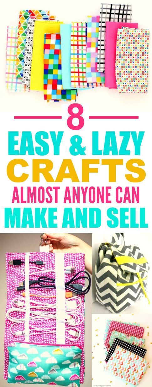 These 8 easy sewing projects you can make and sell are THE BEST! I'm so glad I found this A ...