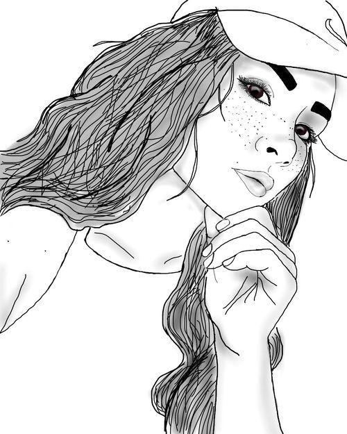 Bildergebnis für outline drawing tumblr
