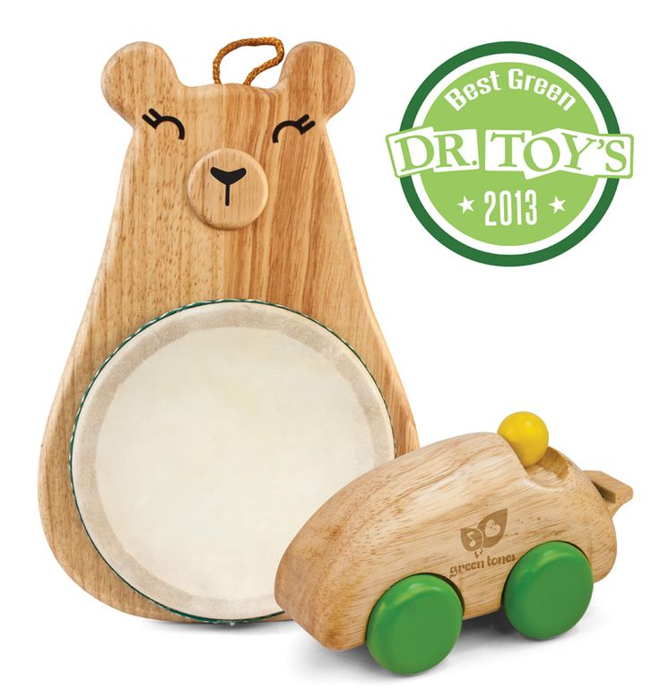 green tones® instruments are made from sustainable rubberwood making them not only good for your child, but good for the planet! #green tones® #eco instruments & toys