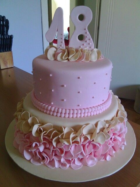 Cake Designs For 18th Birthday Girl : 17+ best ideas about 18th Birthday Cake on Pinterest 21 ...