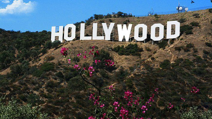 Best views of the world famous Hollywood Sign
