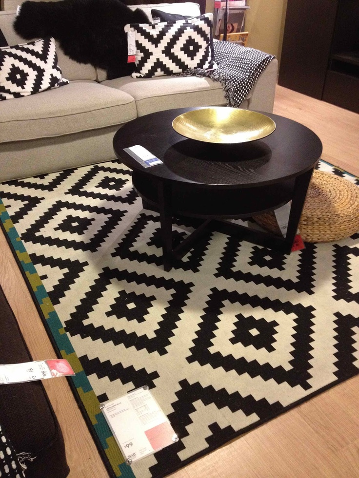 16 best images about lappljung ruta rug inspiration on for Ikea living room rugs