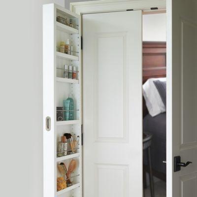 best 25 behind door storage ideas on pinterest spice rack behind door small shelves and. Black Bedroom Furniture Sets. Home Design Ideas