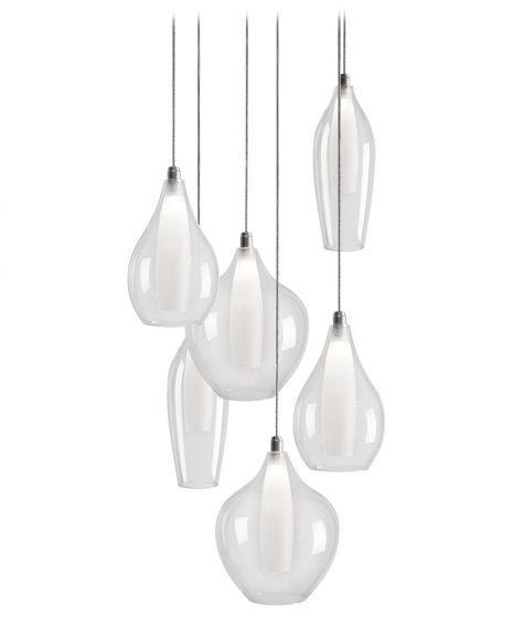 KUZCO MP3006  121750 - Suspendu - Plafond   Multi Luminaire