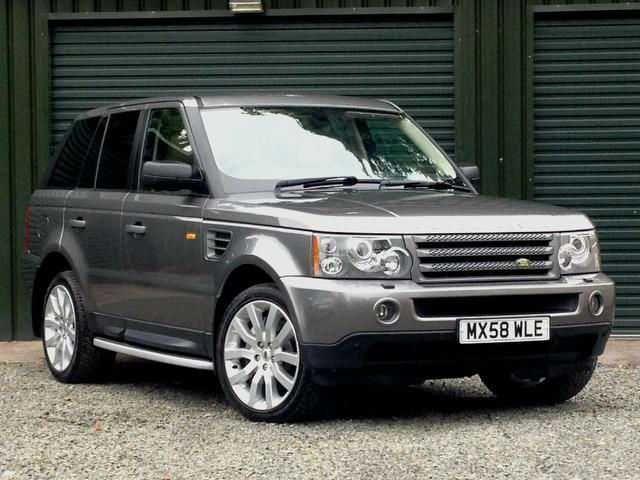 2008 Range Rover Sport 2.7 TDV6 HSE 5-door auto estate. Grey with cream/beige leather interior. Full service history.