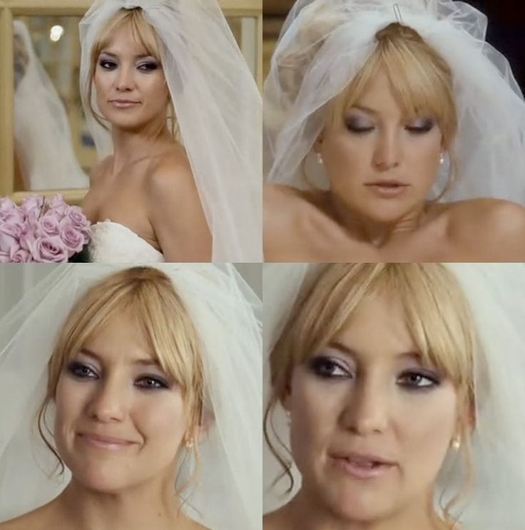 kate hudson bride wars makeup - Purple Smokey Eye. So bold and daring for a wedding look but when done the right way you can totally pull it off!