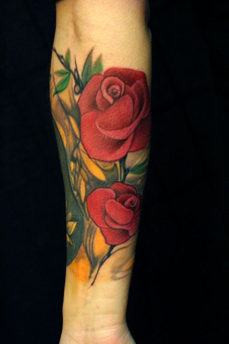 223 best images about photos of tattoos on pinterest for Rose tattoos on arm