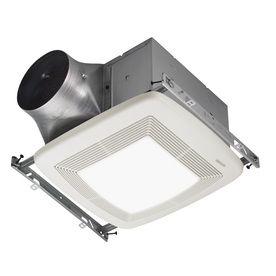 Broan 0 3 Sone 110 Cfm White Bathroom Fan Energy Star