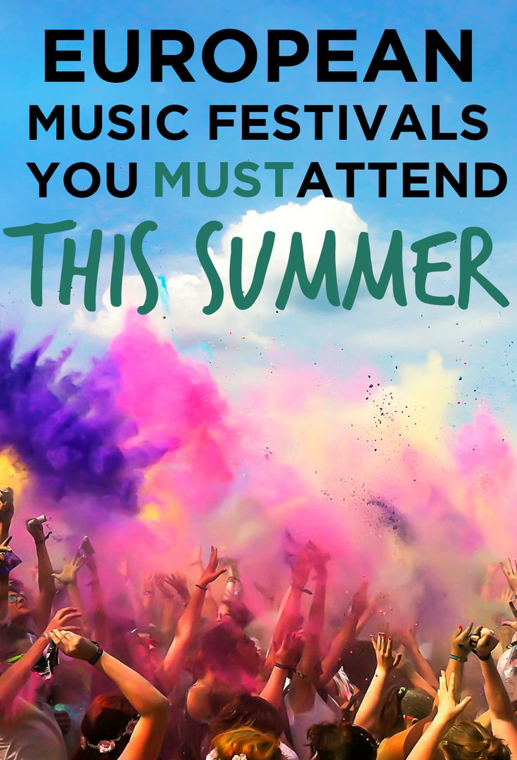 Top Europe Music Festivals You MUST Attend in 2016. What makes YOUR list? @spotahome #travel